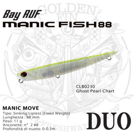 Duo BAY RUF MANIC FISH 88