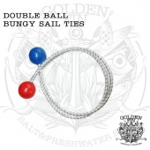 Golden Fin SAIL TIES WITH BALLS