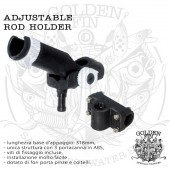 Golden Fin ADJUSTABLE ROD HOLDER