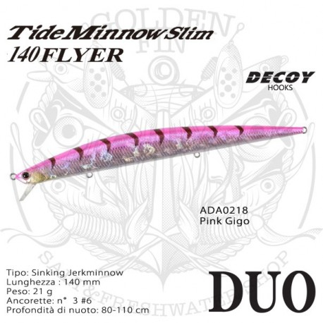 Duo TIDE MINNOW SLIM 140 FLYER NEW