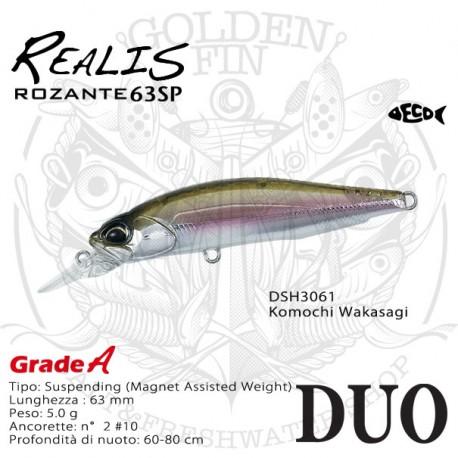 Duo REALIS ROZANTE 63SP