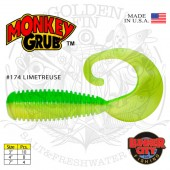 Lunker City MONKEY GRUB 7""