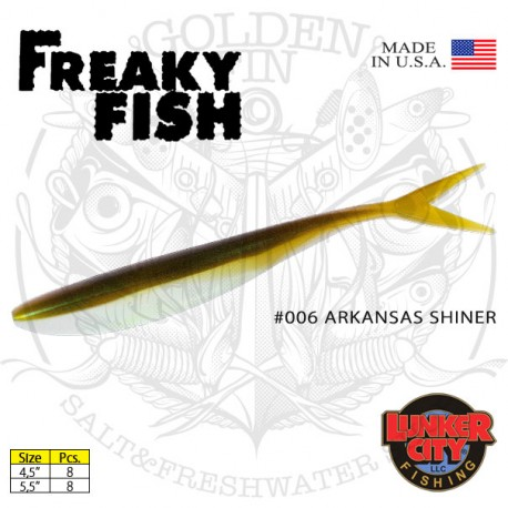 """Lunker City FREAKY FISH 4.5"""""""