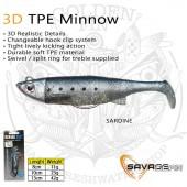 Savage Gear 3D TPE Minnow 8cm