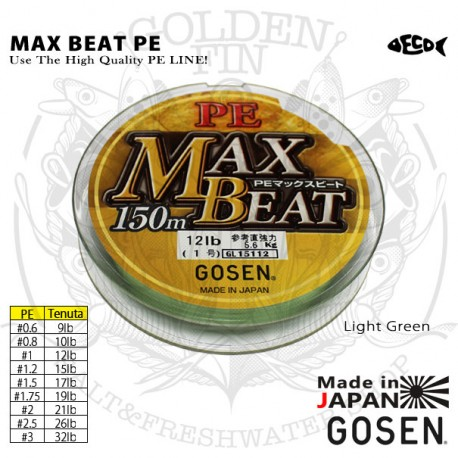Gosen MAX BEAT PE