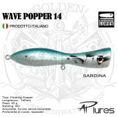 AP Lures WAVE POPPER 14