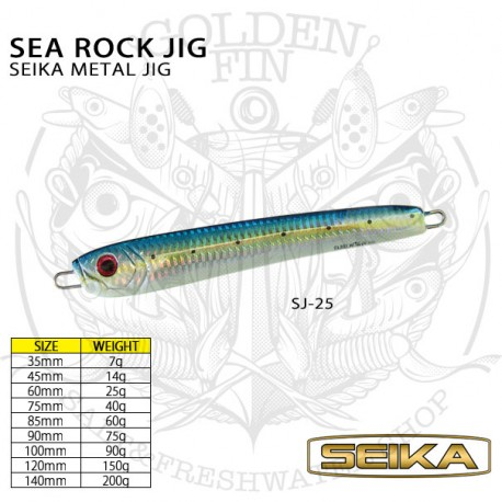 SEIKA SEA ROCK JIG 75