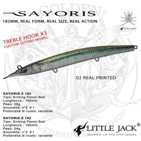LITTLE JACK SAYORIS 182 54g