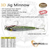 Savage Gear 3D Jig Minnow 20g