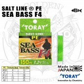 TORAY SALT LINE PE SEA BASS F4