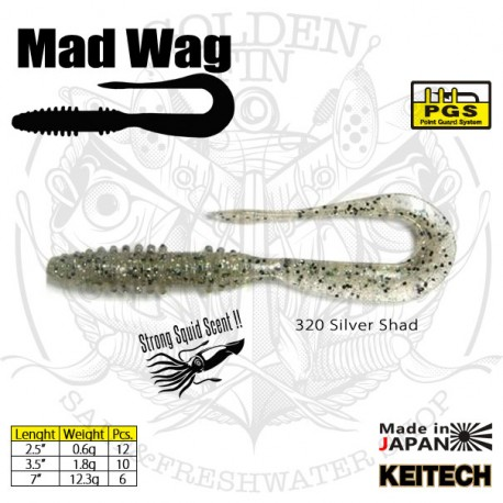 KEITECH MAD WAG 2.5""