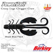 BERKLEY POWERBAIT CRAZY LEG CHIGGER CRAW 4""
