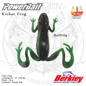 Berkley PowerBait Kicker Frog 4""