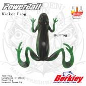 "BERKLEY POWERBAIT KICKER FROG 4"""