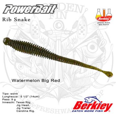 "Berkley PowerBait Rib Snake 5.5"""