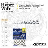 Owner HYPER WIRE Split Ring