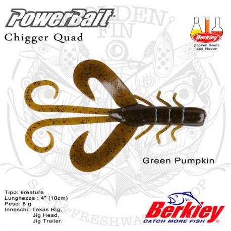 """Berkley PowerBait Chigger Quad 4"""""""
