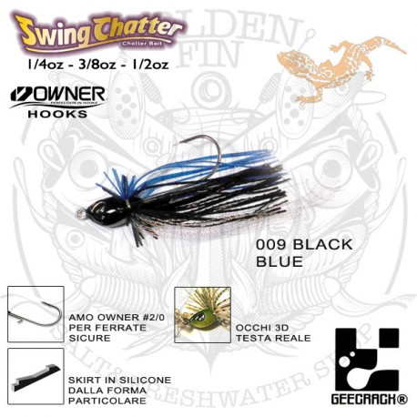 Geecrack Swing Chatter 3/8oz