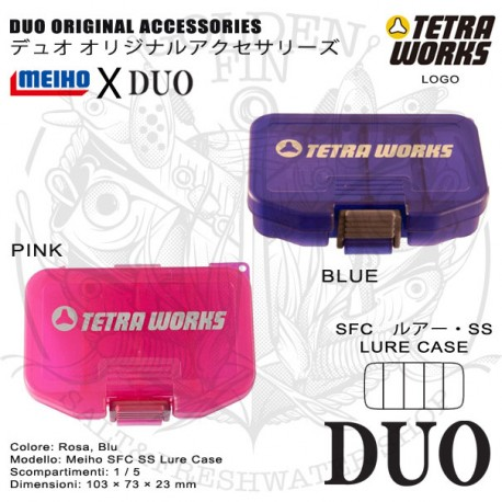 Duo x Meiho SFC LURE CASE SS TETRAWORKS