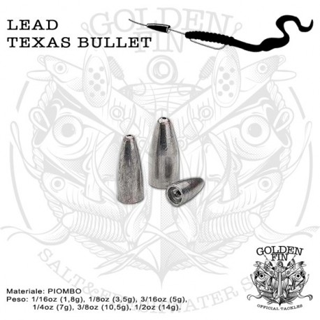 Golden Fin TEXAS BULLET